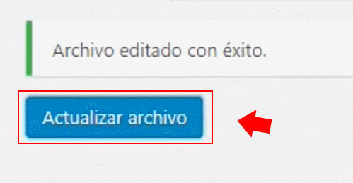 pegar codigo analitics en wordpress