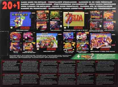 Juegos Super Nintendo Classic Mini
