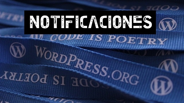 quitar notificaciones wordpress