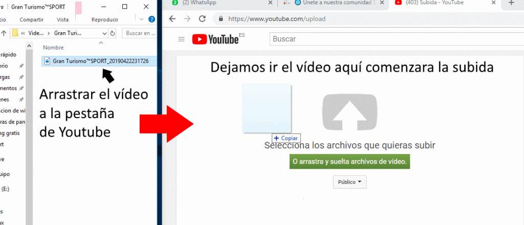 subir videos a youtube paso a paso