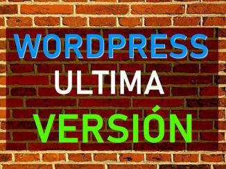 actualizar wordpress español 2019
