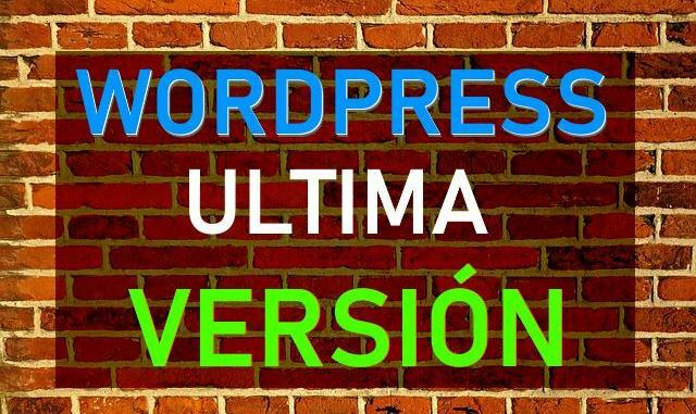 actualizar wordpress español 2019