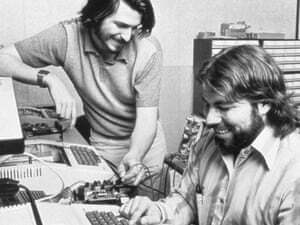 la historia de apple steve jobs wozniak