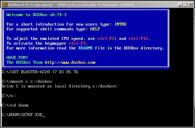 configurar teclas doom 1 original