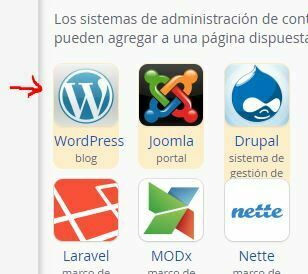 como instalar wordpress cpanel