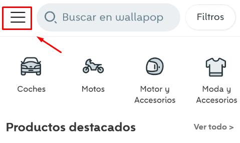 perfil de usuario wallapop