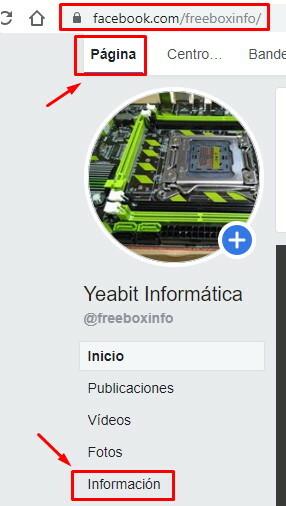 cambiar nombre pagina facebook 2019