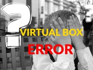 solucionar error al abrir sesion virtual box