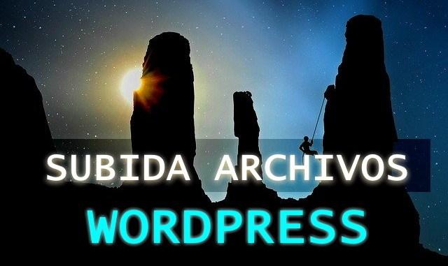 cambiar tamaño maximo subida wordpress
