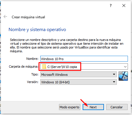 virtualbox no arranca maquina virtual