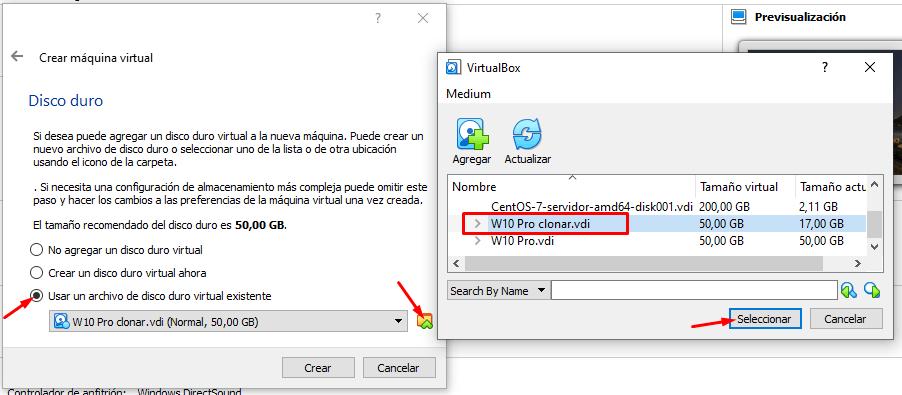 virtualbox me da error windows 10