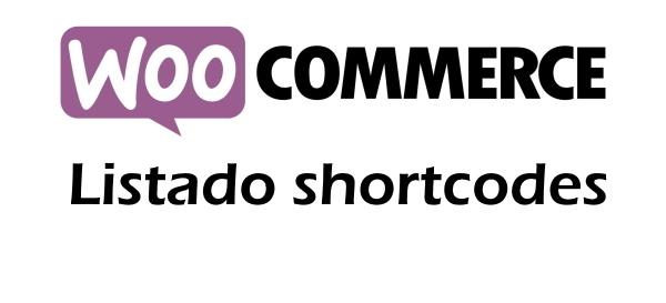 shortcodes mas usados woocommerce