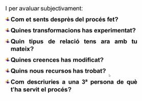 evaluar subjectivament pnl