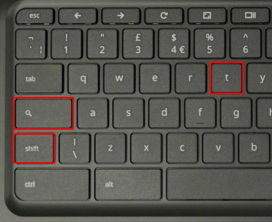 teclado tactil chromebook