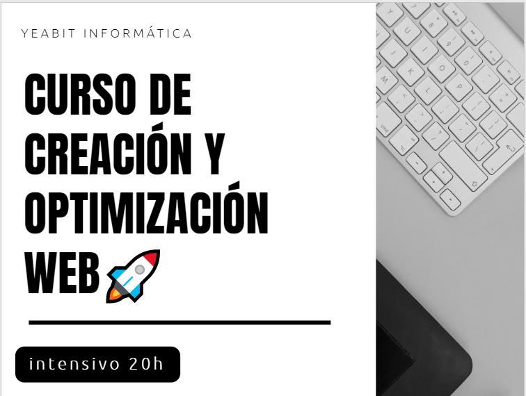 curso creacion de paginas web 2021