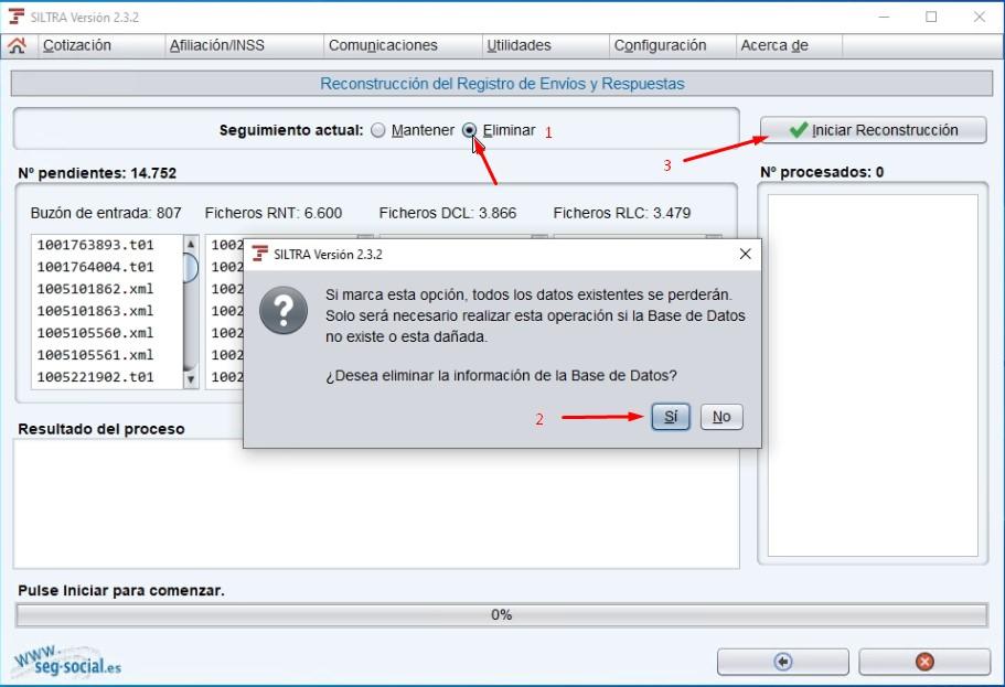 restaurar base de datos siltra en otro pc