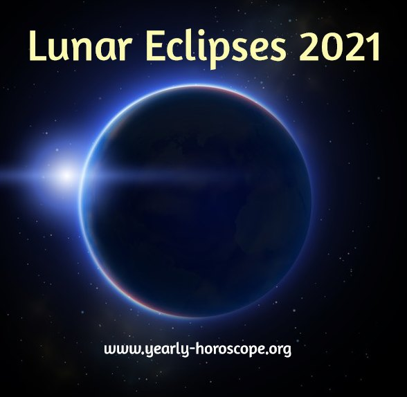 Lunar Eclipses in 2021 in astrology