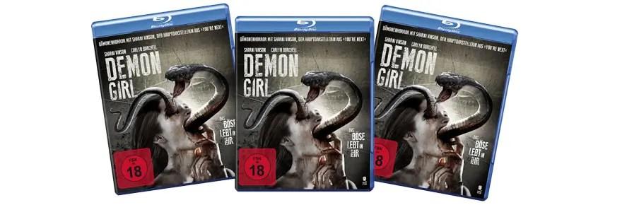 Wir verlosen 3x Demon Girl von Tiberius auf Bluray!