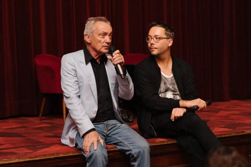 Udo Kier mit Markus Keuschnigg