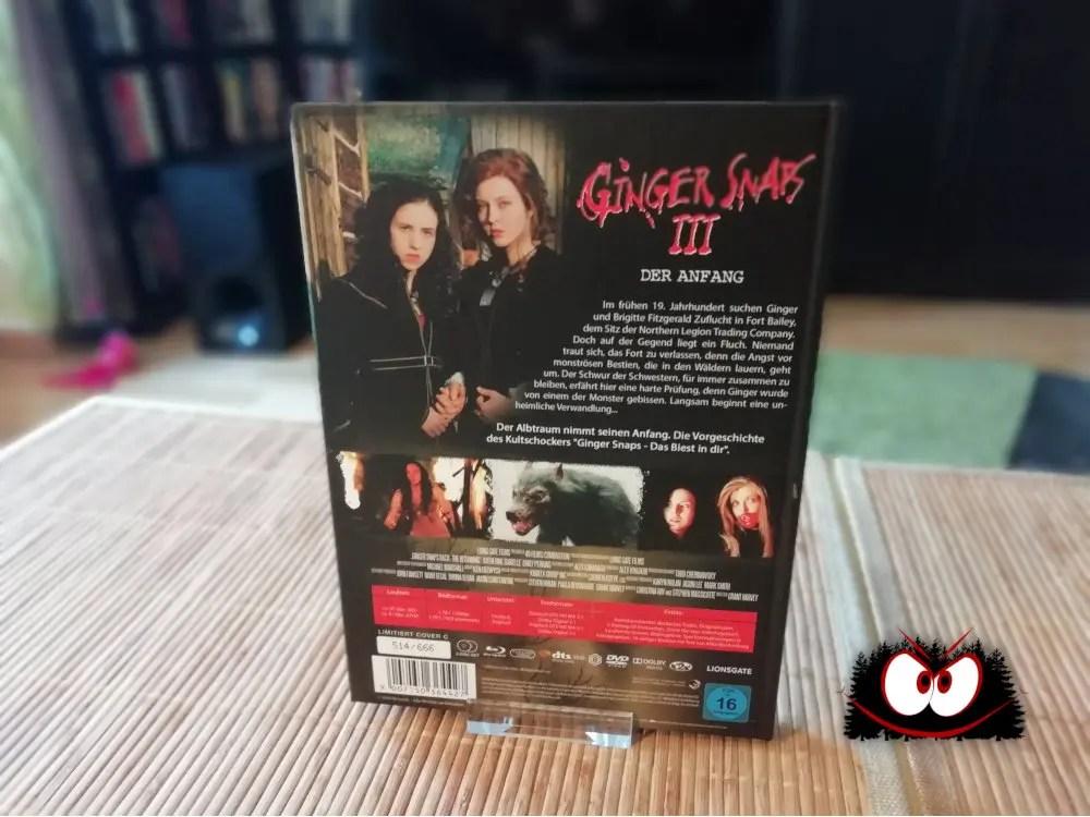Unboxing: Ginger Snaps 1-3 (2000-2004) - Mediabooks im