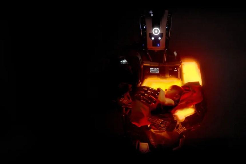 Der Mutter-Roboter in I Am Mother
