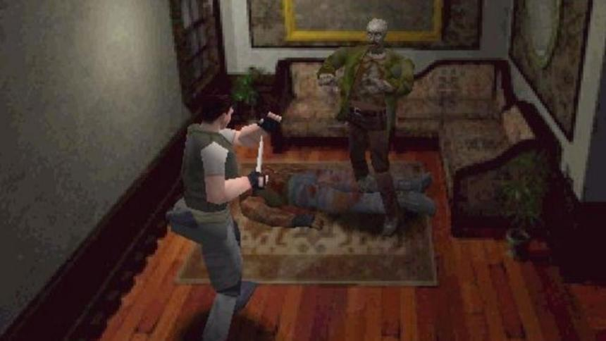 Zombies in Resident Evil