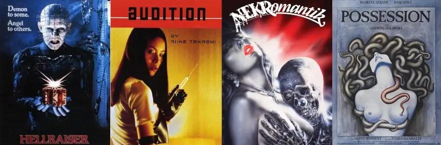 Romanzen in Horrorfilmen