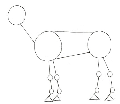 How to draw a Horse, step 2