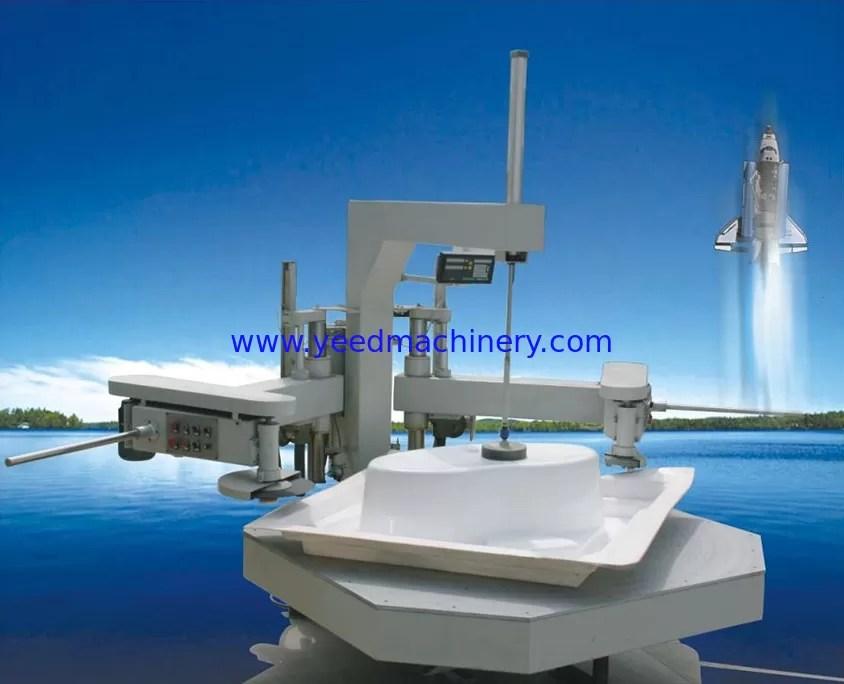 Bathtub Edge Cutting Machine