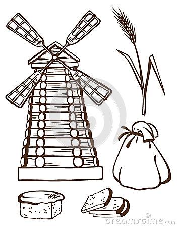 moulin a grain a main