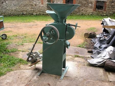 moulin aplatisseur a grain