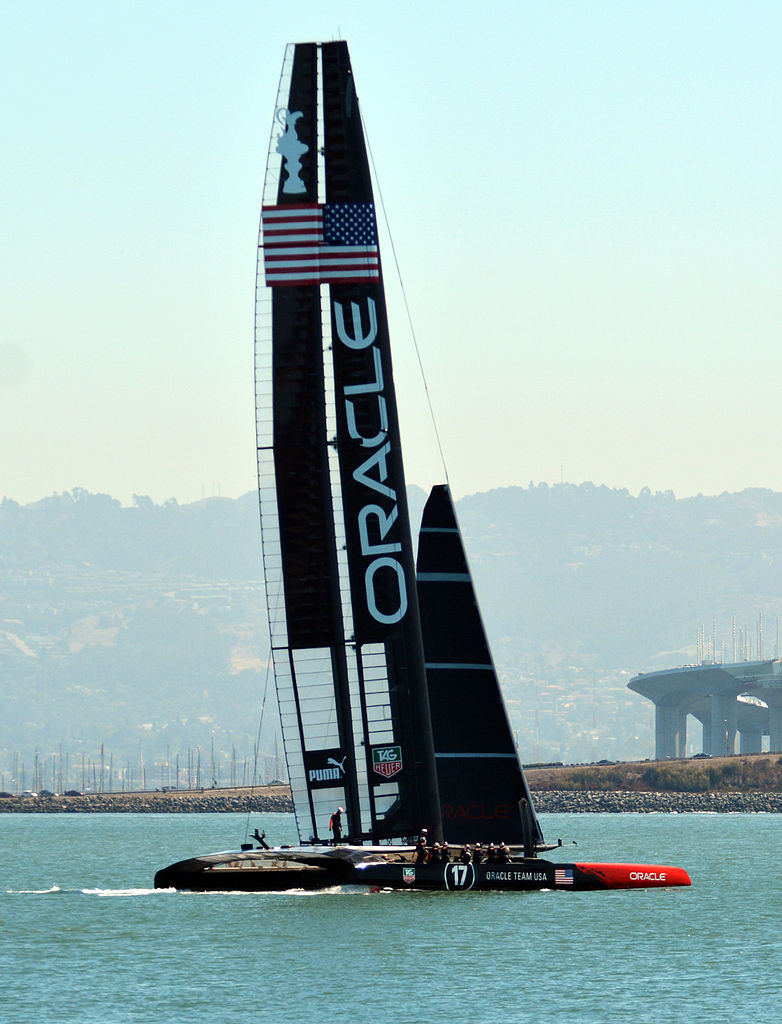 america's cup racing yacht models