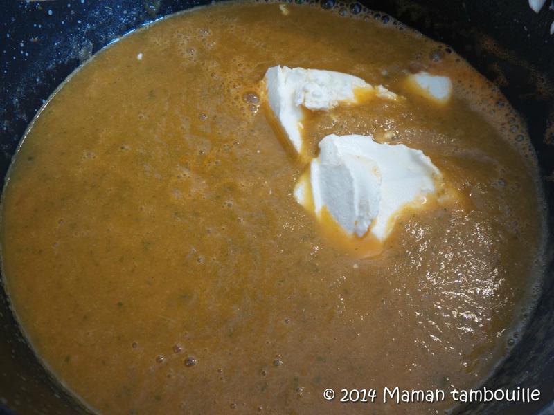 Comment mixer de la soupe ?