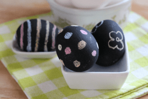 DIY Chalkboard Paint Eggs