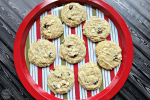 Chocolate Cranberry Coconut Cookies
