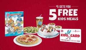 Boston Pizza Kids Card – Helps Children In Need of Role Models