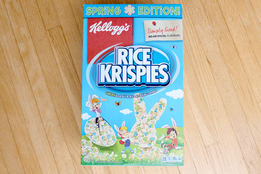 Hop Into Spring With Kellogg's Rice Krispies
