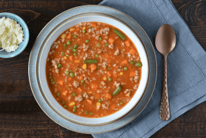 Quick And Hearty Turkey Barley Soup