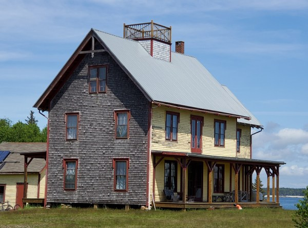 Photograph of the Maine family vacation home