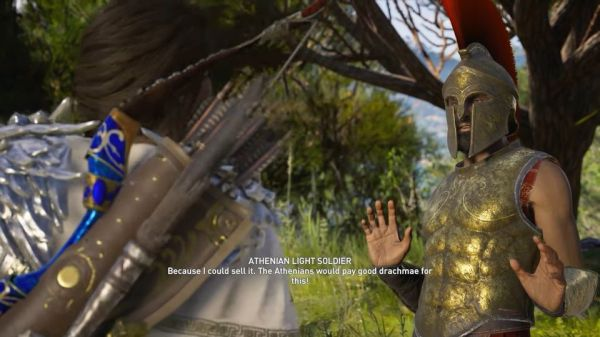Assassin's Creed Odyssey - The Missing Map Quest Walkthrough