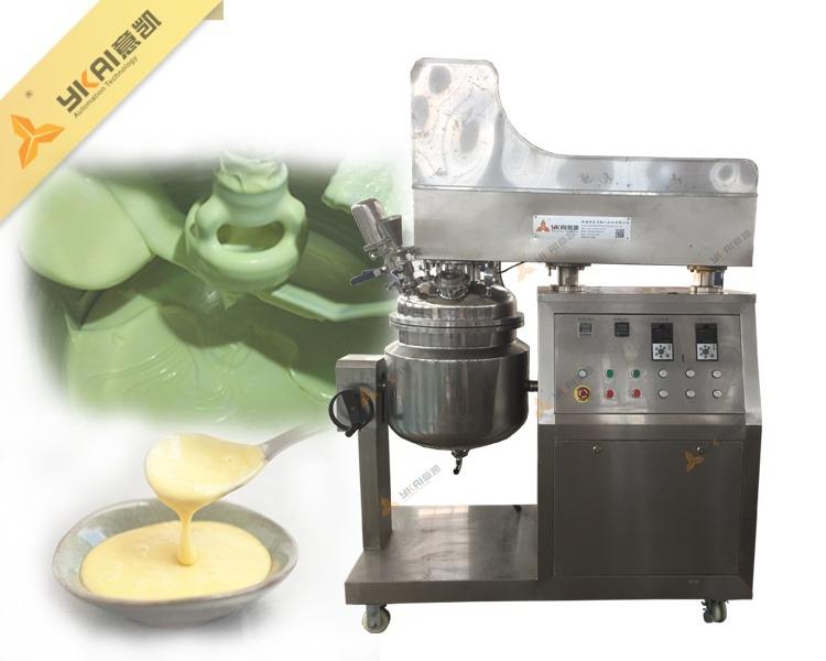 Sauce emulsifying machine