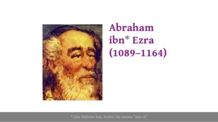 Image result for אברהם אבן עזרא