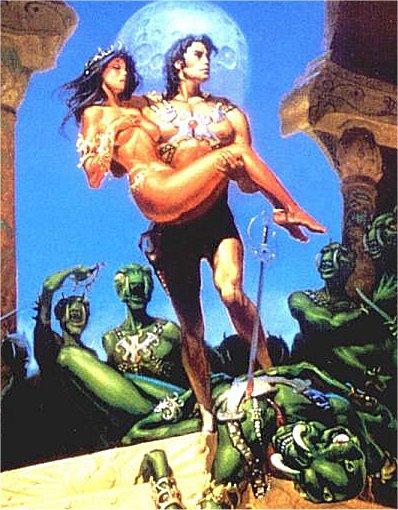 דז'ה טוריס נסיכת המאדים וג'ון קרטר מוירג'יניה -אדגר רייס בוראוז :החלק השני
