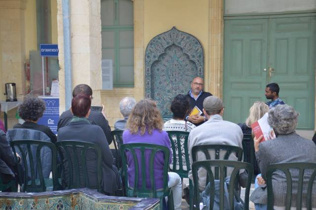 סמי שלום שטרית במפגש במוזאון האיסלאם