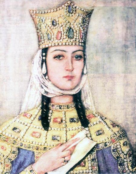 המלכה תמרה (איור: ויקיפדיה)