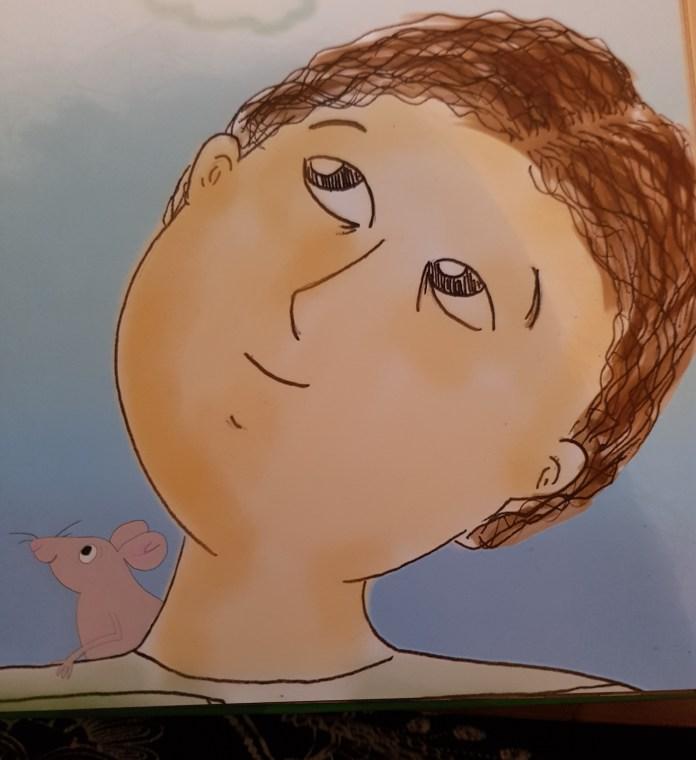 עכבר מציץ ספר שירי הילדים של אהרון עזרא