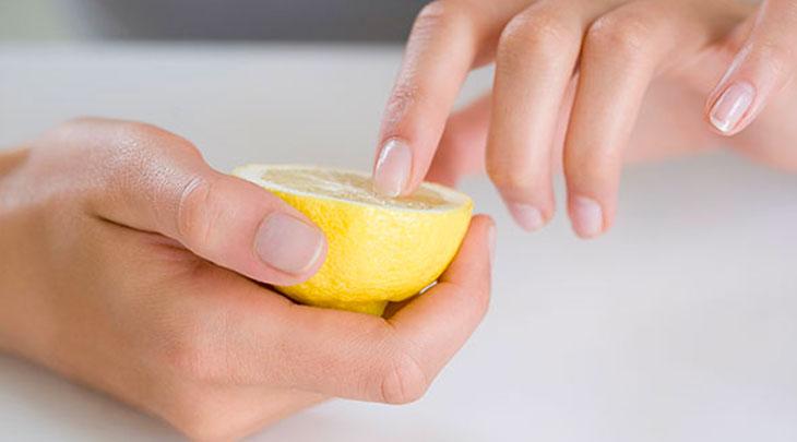 Tırnak limon bakımı