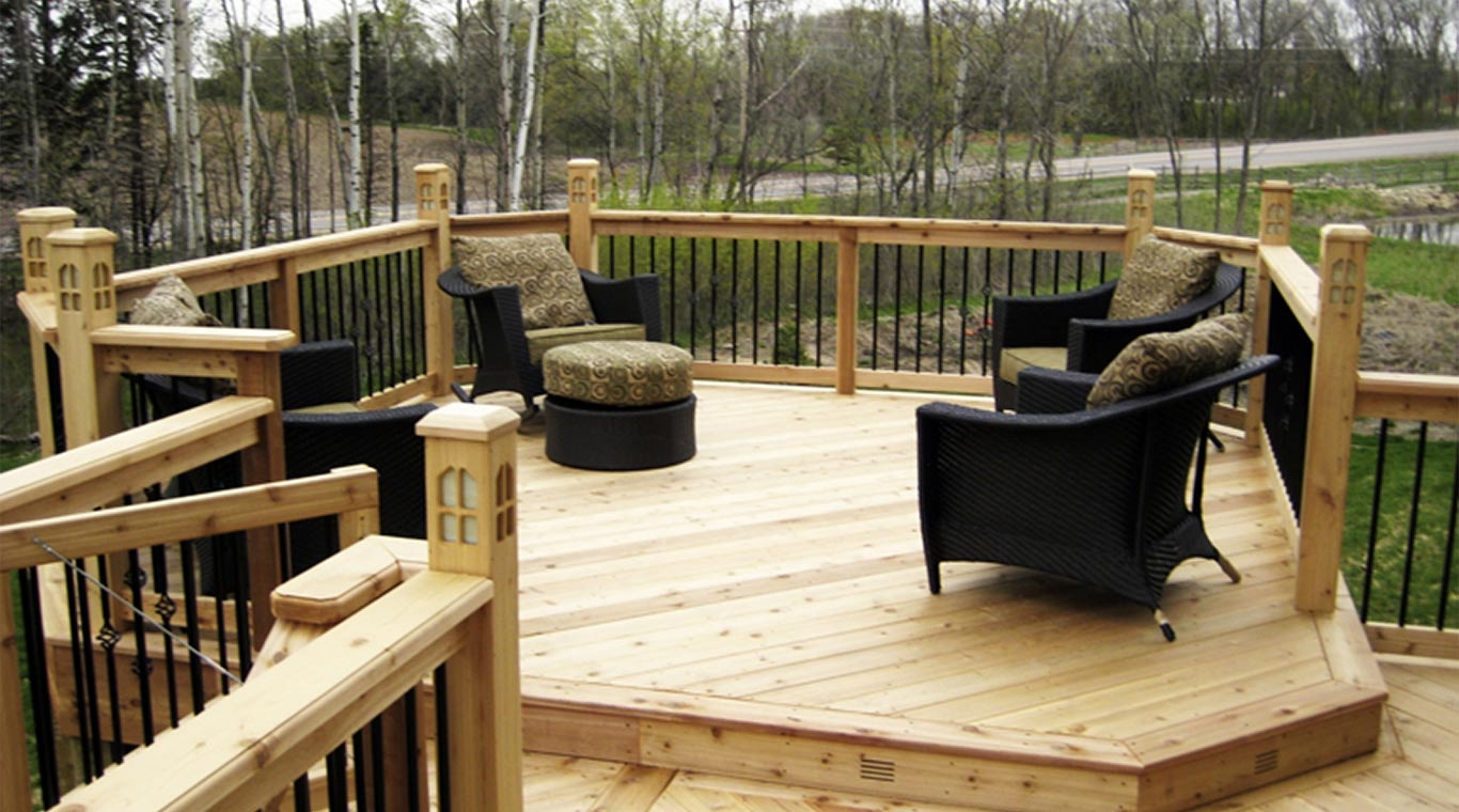 Pressure Treated Handrails Yellawood | Pressure Treated Deck Handrail | Real Wood | Light Color | Deck Board | Southern Yellow Pine | Decking