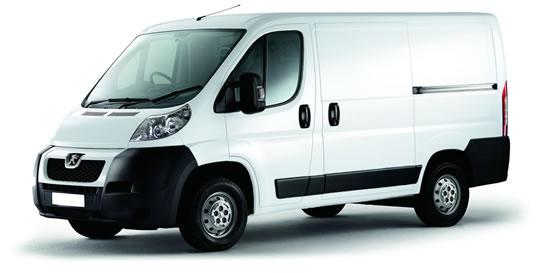 Van rental one way