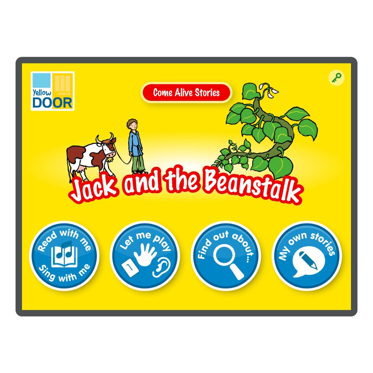 Jack And The Beanstalk Interactive Story App